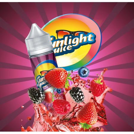 E-liquide Sunlight Juice Red Fruits 50ml