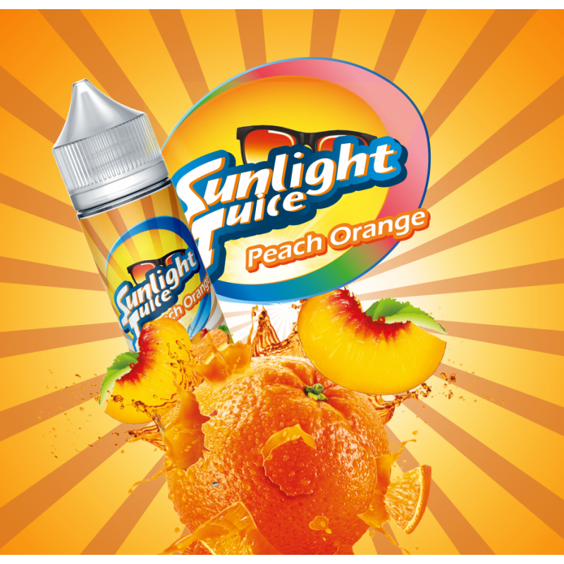 Peach Orange 50ml - Sunlight Juice
