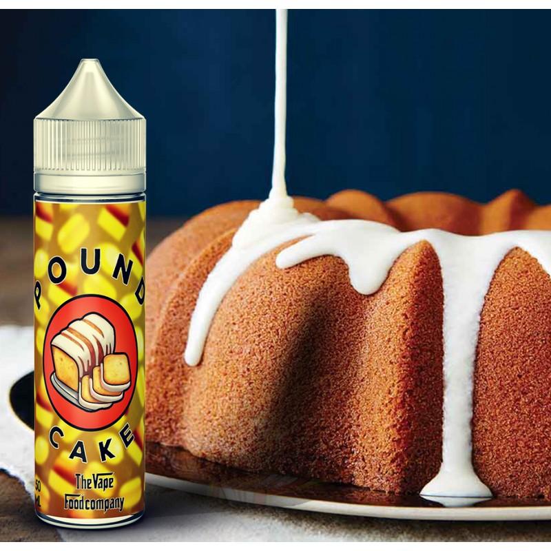 E-liquide The Vape Food Company Pound Cake 50ml
