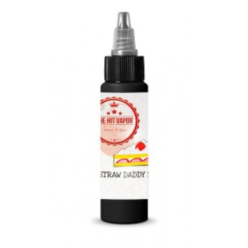 E-liquide Straw Daddy 50ml 0mg de The Hit Vapor