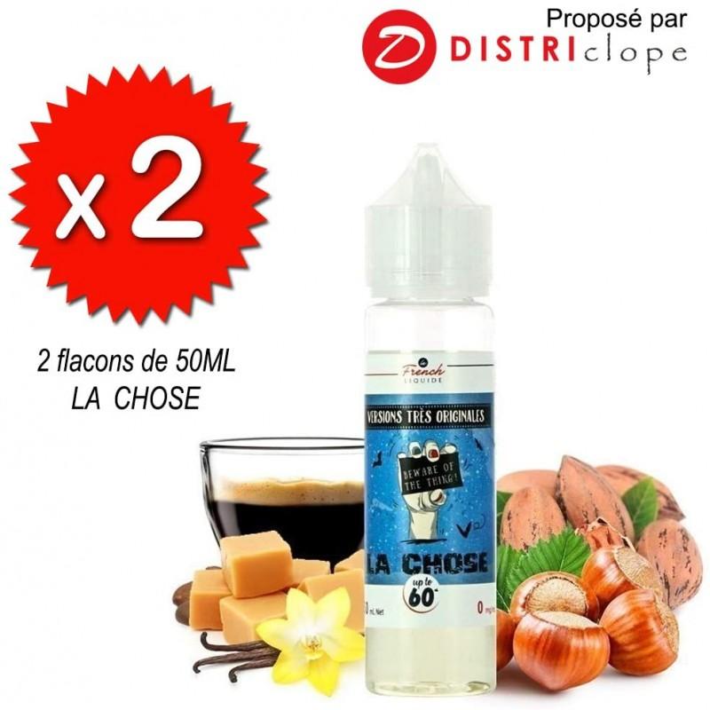X2 flacons La Chose 50ml - Le French Liquide