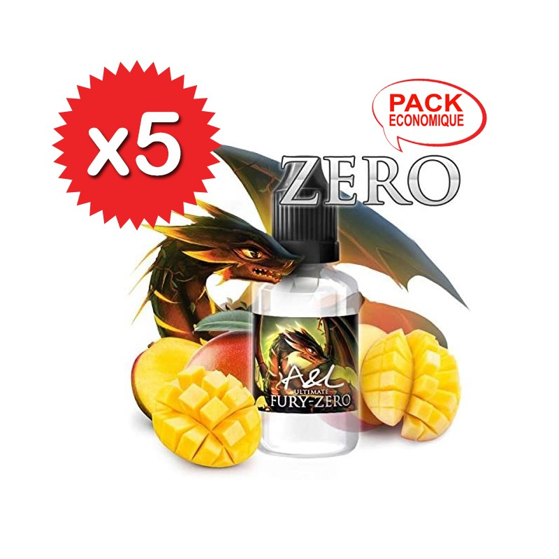 X5 Concentrés Fury Ultimate Zero 30ml - A&L