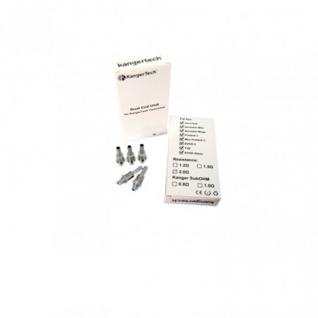 X5 mèches Protank 3 / Aerotank / EVOD 2 Kangertech