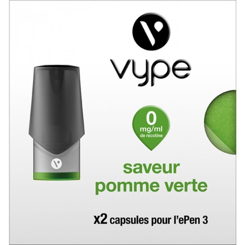 Pomme Verte ePen3 - Vype