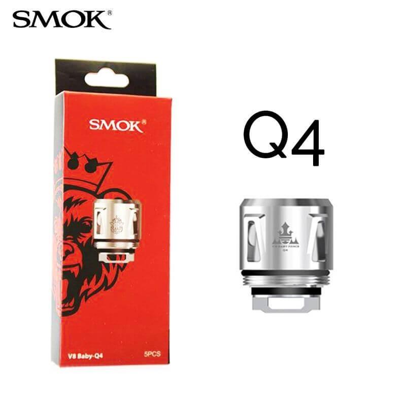 Résistances TFV8 Baby-Q4 - Smok
