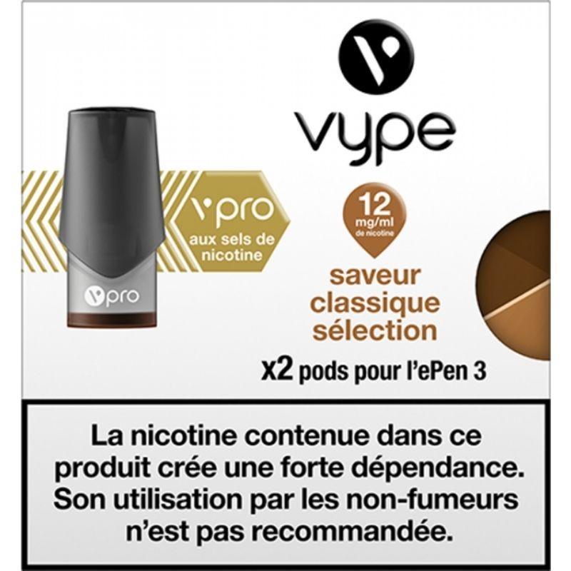 Classique Sélection vPro ePen3 - Vype
