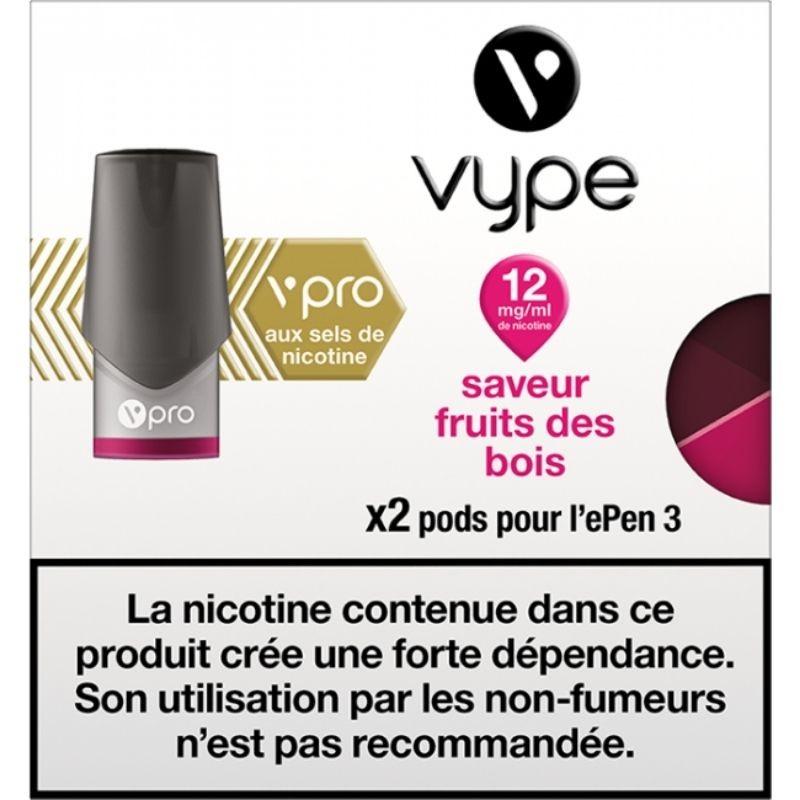 Fruits des bois vPro ePen3 - Vype