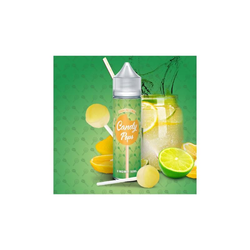 Sparkling Lemon 50ml - Candy Pops