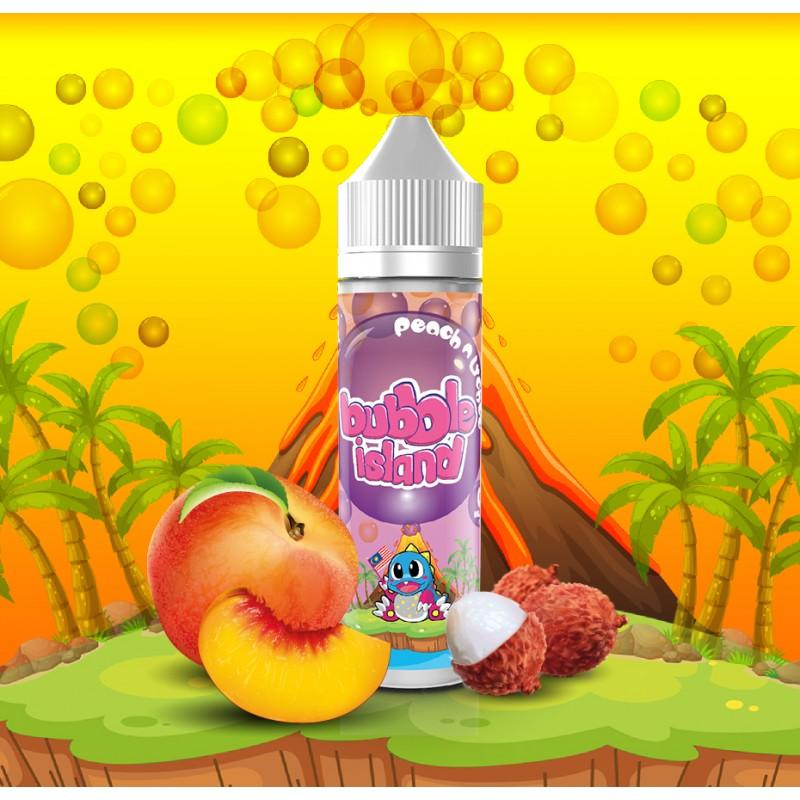 Peach n Lychee 50ml - Bubble Island