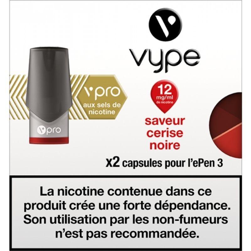 Cerise Noire vPro ePen3 - Vype