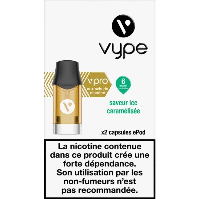 Classique Ice Caramélisée vPro ePod - Vype