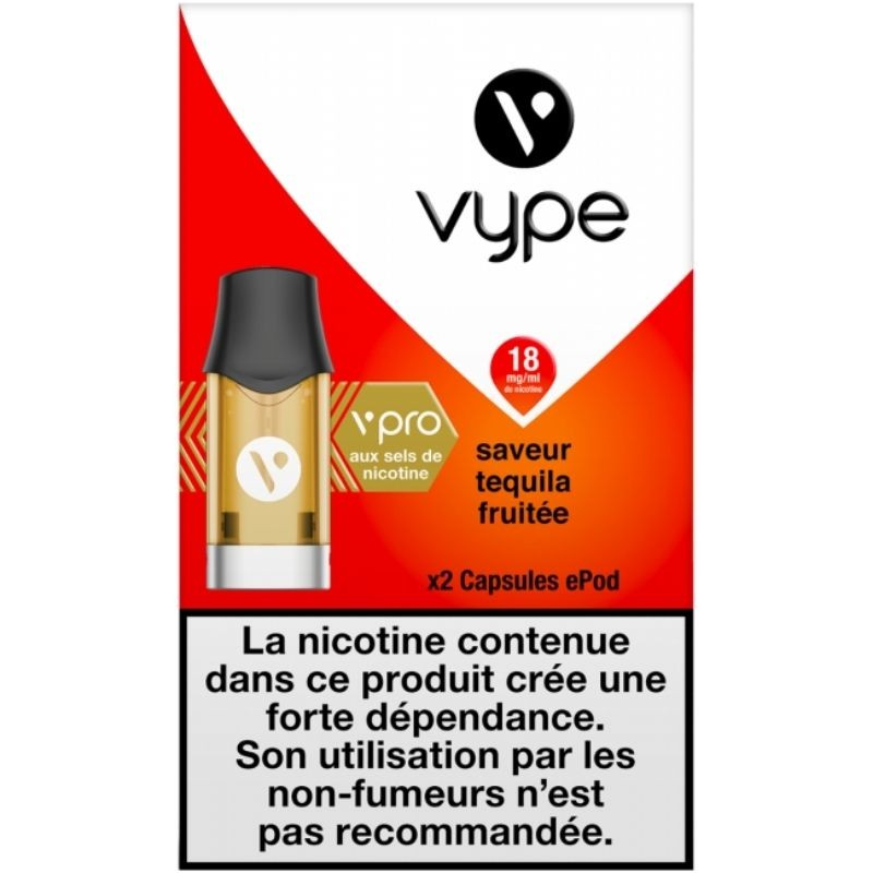 Tequila Fruitée vPro 18mg ePod - Vype