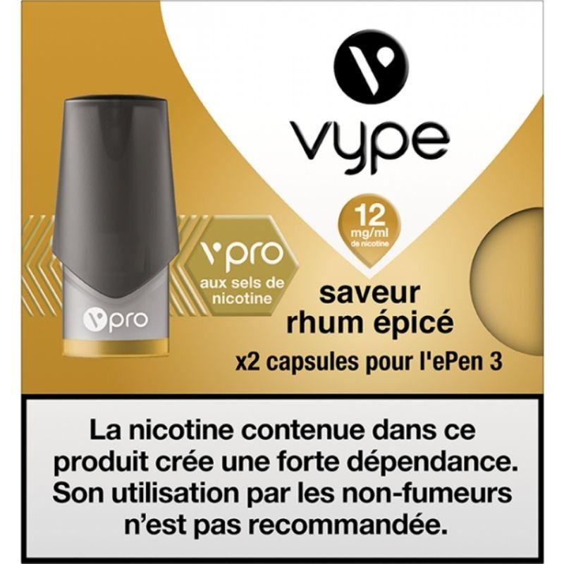 Rhum Épicé vPro ePen3 - Vype