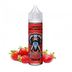 Fraise - Vapeur Mecanique 50 ml