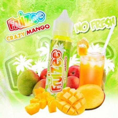 Fruizee Crazy Mango 50ml No Fresh - Eliquid France