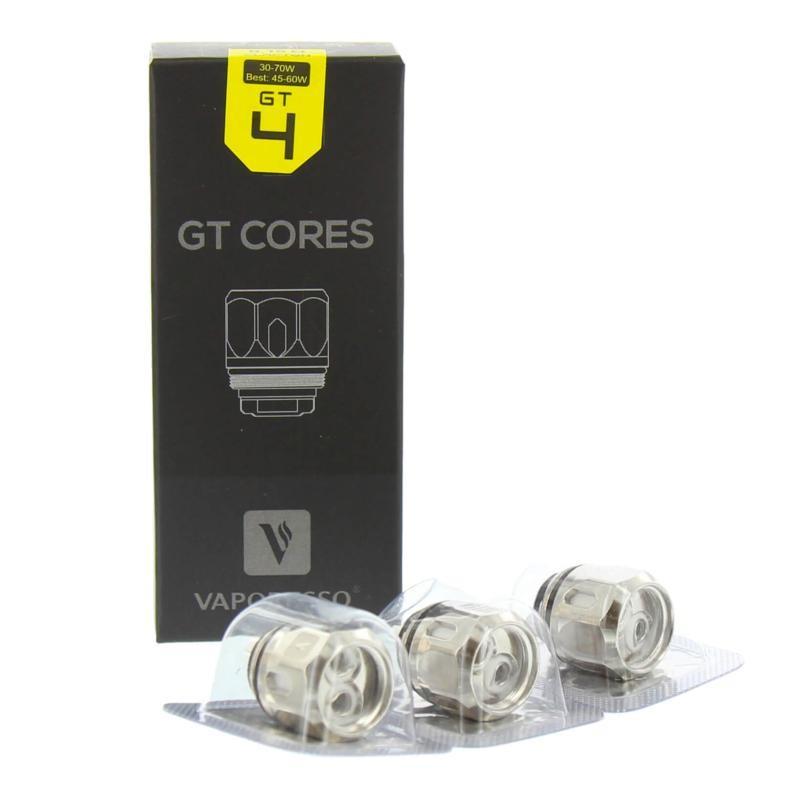 Résistances GT4 cores 0.15ohm - Vaporesso