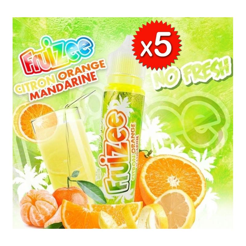 X5 Fruizee Citron Orange Mandarine 50ml No Fresh