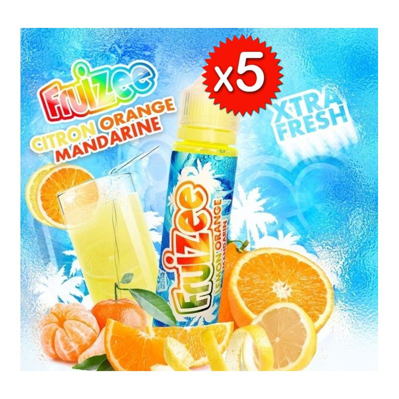 x5 Fruizee Citron Orange Mandarine 50ml