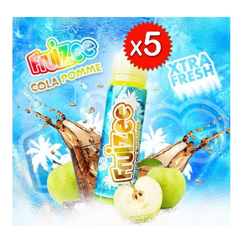 x5 Fruizee Cola Pomme 50ml - Eliquid France