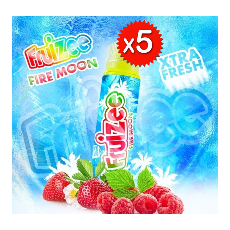 x5 Fruizee Fire moon 50ml - Eliquid France