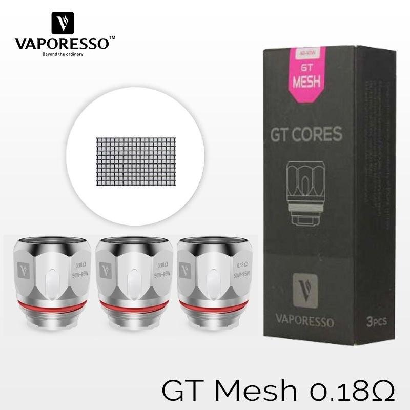 Résistances GT Mesh 0.18ohm - Vaporesso
