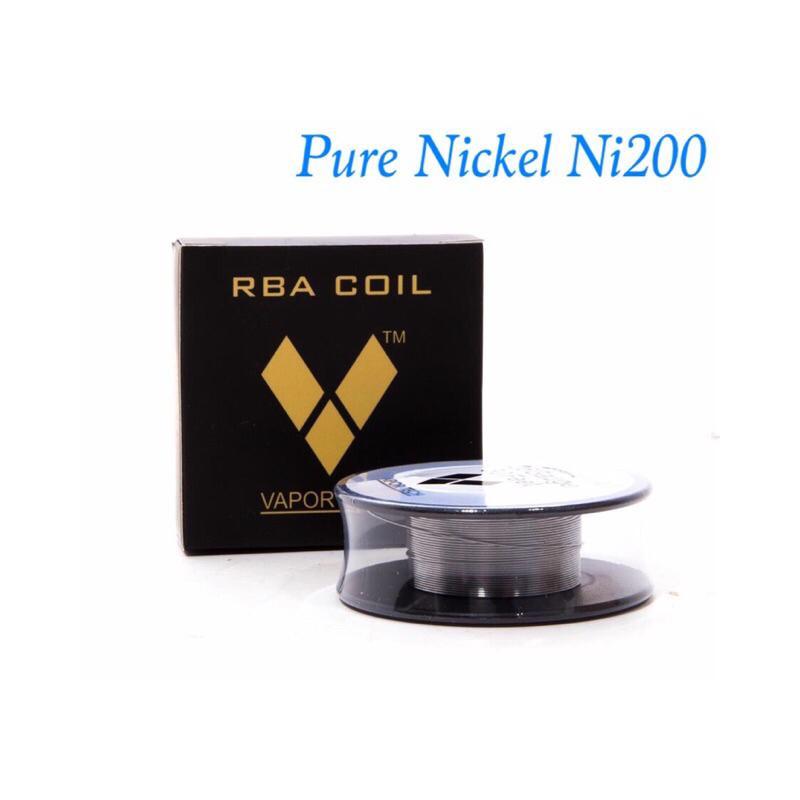 RBA Coil Pure Nickel NI200- Vapor Tech