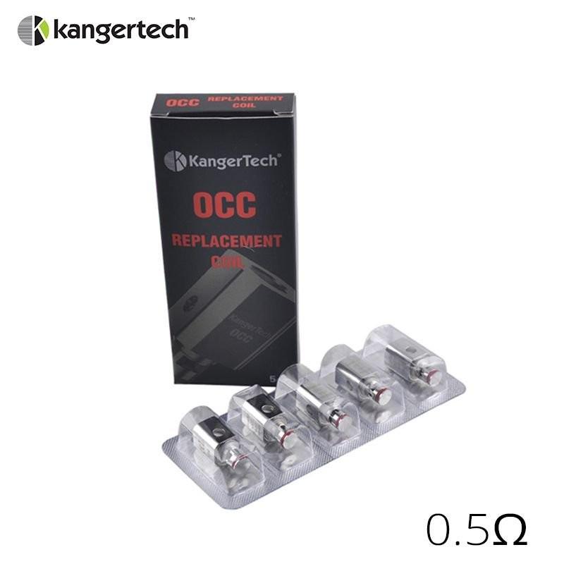 Kangertech Résistances verticales OCC pour Subtank (5pcs)