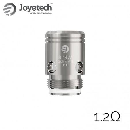 JOYETECH Résistance EX Stainless Steel 1.2ohm(5pcs)