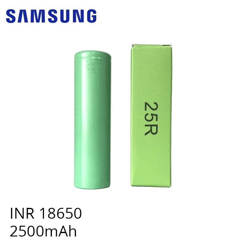 Accu 25R 18650 2500 mAh INR - Samsung