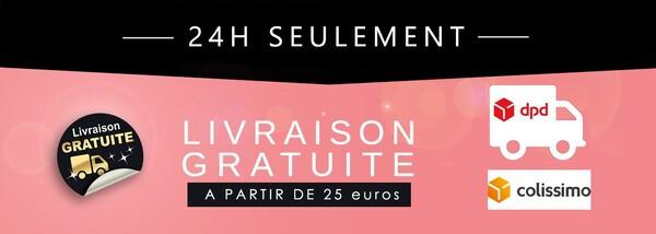 Livraison gratuite dès 25€ TTC